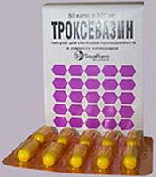 Показания препарата Троксевазиновая мазь